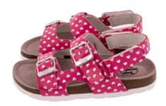 BF dívčí celokožené sandálky BA5251118 31 růžová