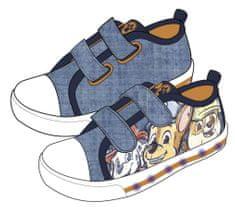 Disney 2300004863 Paw Patrol fantovske svetleče superge, modre, 23