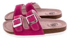 BF lány bőrpapucs BY2131099 36, rózsaszín