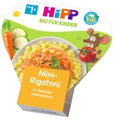 HiPP BIO Mini-Rigatoni so zeleninou v smotanovej omáčke 6 x 250 g