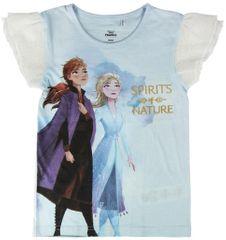 Disney dievčenské tričko Frozen II 2200004951 92 biele
