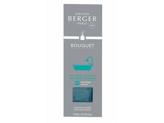 Maison Berger Paris Difuzor Cube v kopalnici Aquatic (Anti-odour Bathroom) kopalnica (Anti-odour Bathroom) 125 ml