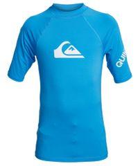 Quiksilver chlapčenské plavkové tričko All time ss youth EQBWR03121-BMM0 XS modrá