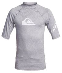 Quiksilver fantovska kopalna majica All time ss youth EQBWR03121-SZPH, L, siva