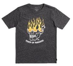 Quiksilver majica za dječake Lights out ss youth EQBZT04338-KTAH, XS, tamno siva
