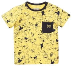 KokoNoko chlapčenské tričko VK0215A, 92, žltá