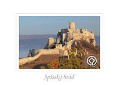 tvorme pohľadnica Spišský hrad I (UNESCO)