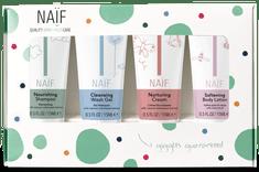 NAIF Set miniatúr kozmetiky pre deti a bábätká 4x15ml