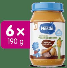 Nestlé Telecí maso se zeleninou 6x 190g