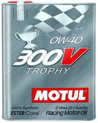 Motul 300 V Trophy motorno olje, 0W40, 2l