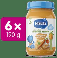 Nestlé Špagety s kuracím mäsom 6x 190g