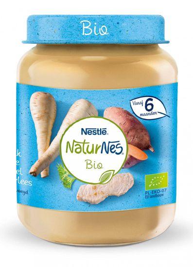 Nestlé NaturNes BIO Teľacie mäso s paštrnákom a sladké zemiaky 6x 190g