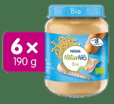 Nestlé NaturNes BIO Těstoviny s krůtím masem a zeleninou 6x 190g