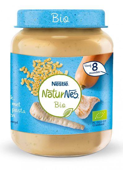 Nestlé NaturNes BIO Cestoviny s morčacím mäsom a zeleninou 6x 190g