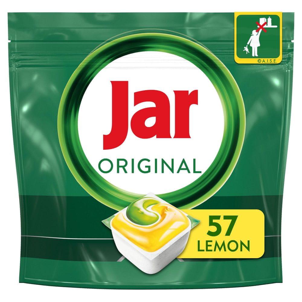 Jar kapsle do myčky Original Vše v jednom Lemon 57 ks