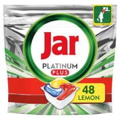 Jar Platinum Plus Vše v jednom Lemon Kapsle do myčky 48 ks