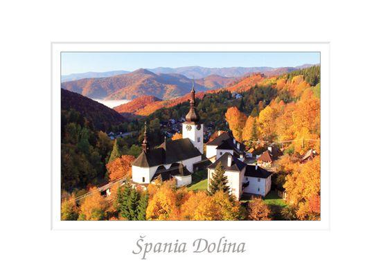tvorme pohľadnica Špania Dolina I (Banská Bystrica)