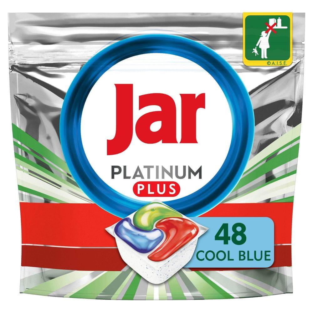 Jar Platinum Plus Vše v jednom Regular Kapsle do myčky 48 ks