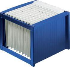 Helit Zásobník na závěsné desky, modrý, plast