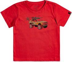 Quiksilver Very rootsy ss boy EQKZT03445-RPY0 fantovska majica, 2, rdeča