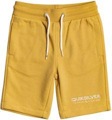 Quiksilver Easy Day rib short boy EQKFB03098-YHP0 fantovske kratke hlače, 7, rumene