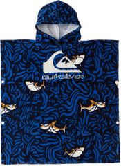 Quiksilver chlapecké tmavě modré pončo Hoody Towel Boy AQKAA03005-BRP0
