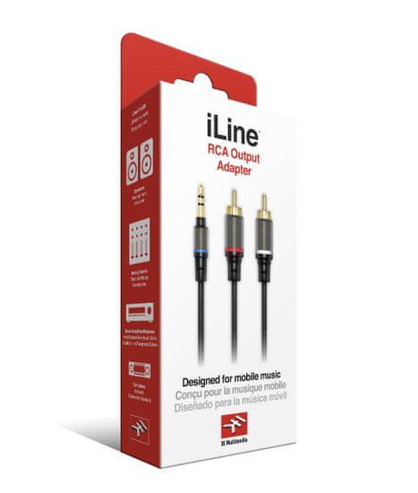 IK Multimedia iLine RCA Output Adapter
