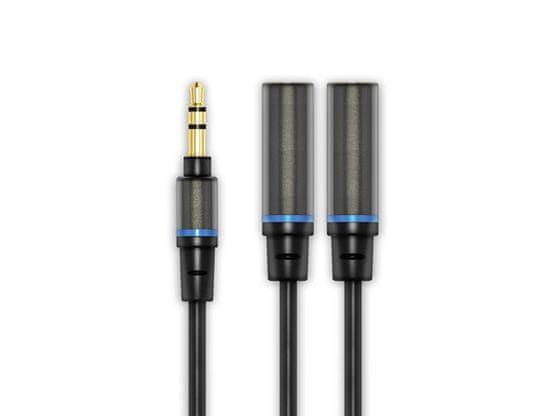 IK Multimedia iLine Headphone Stereo Splitter