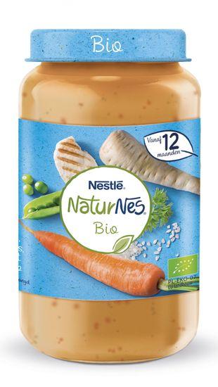 Nestlé NaturNes BIO Pečené kura s ryžou, paštrnákom a mrkvičkou s hráškom 6x 250g