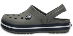 Crocs otroški natikači Crocband Clog K 204537-05H, 33/34, sivi