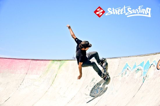 Street Surfing Waveboard LX Snake Pit