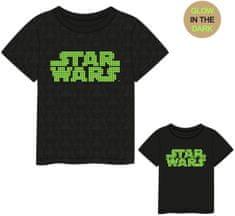 Disney chlapecké tričko Star Wars 2200007006 128 tmavě šedá