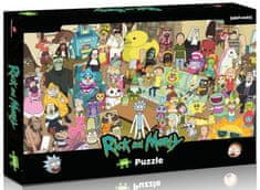 Winning Moves puzzle Rick and Morty 1000 elementów