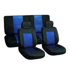 Harmony prevleke za sedeže, 6 delne, modro-črne