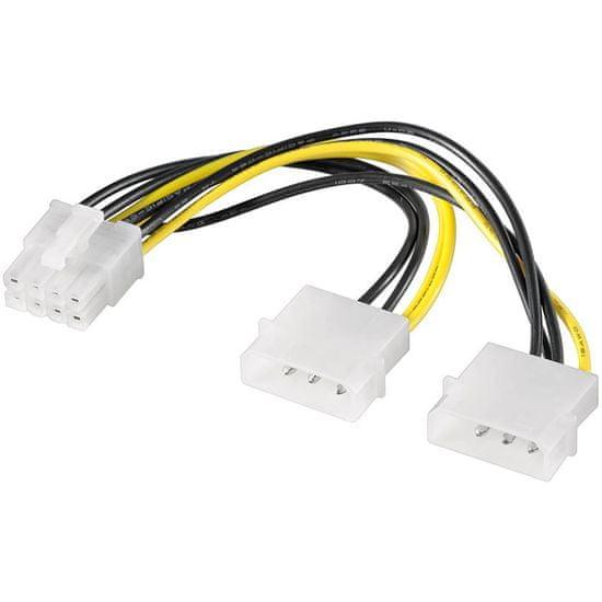 Goobay PCIe 8-pinski adapter za napajanje grafičke kartice