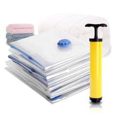 VivoVita VacPack - Paket 7 vakuumskih vreč za shranjevanje in zaščito oblačil, posteljnine in igrač.