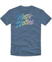 Quiksilver chlapecké tričko Island pulse ss youth EQBZT04328-BMN0 XS modrá