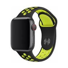 Devia Řemínek Deluxe Sport 2 pro Apple Watch 44mm/42mm BRA007496, žlutý