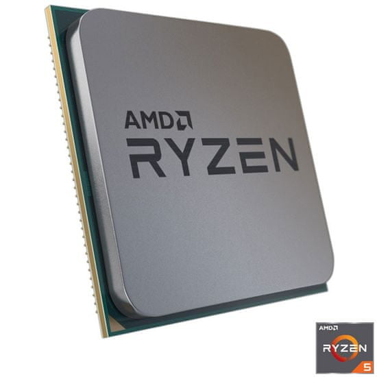 AMD Ryzen 5 5600X procesor, Wraith Stealth hladilnik, 65 W (100-100000065MPK)