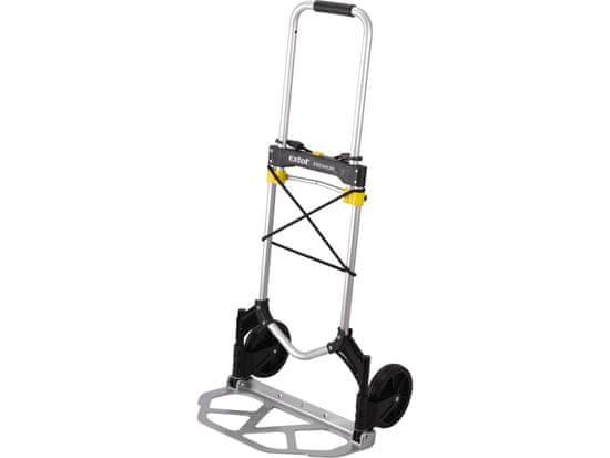 Extol Premium Vozík skladací - rudla, nosnosť 80kg, ložná plocha 280x480mm