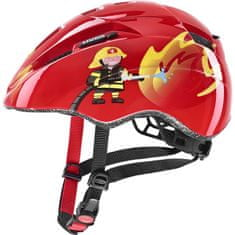 Uvex helma Kid 2 46-52 cm Red Fireman 2021