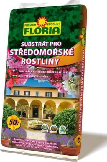 AGRO CS FLORIA substrát pro středomořské rostliny 50 L