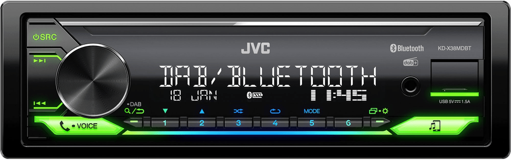 JVC KD-X38MDBT - rozbaleno