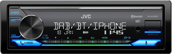 JVC radio samochodowe KD-X472DBT