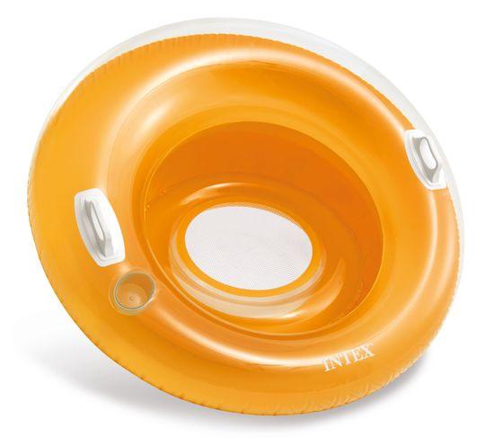 Intex napihljiv stol 58883, oranžen