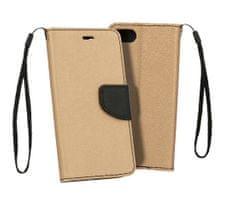 Telone Etui Fancy Book case do Xiaomi Mi 8 Lite - złoto-czarna