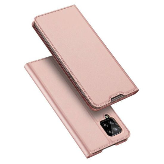Dux Ducis Skin Pro knjižni usnjeni ovitek za Samsung Galaxy A42 5G, roza