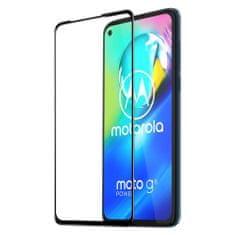 Dux Ducis Glass Full Coveraged zaščitno steklo za Motorola Moto G8 Power, črna