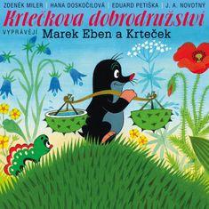 Eben Marek: Krtečkova dobrodružství (5x CD) - CD