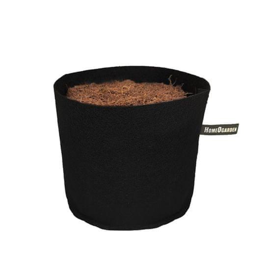 HomeOgarden PlantIN sadilna vreča, 4 L, črna, 5 kosov